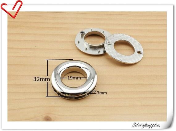 3/4 inch silver Alloying Grommet Eyelet  8pcs E42