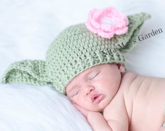 Baby Girls Hat Yoda Star Wars Hat Newborn 0 3m 6m Green Crochet Baby Clothes Boys POPULAR Worldwide Perfect Gift Daddies Love This