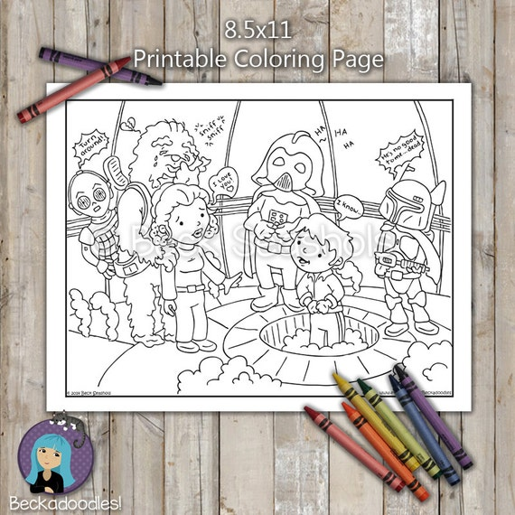 empire strikes back coloring pages - photo#14