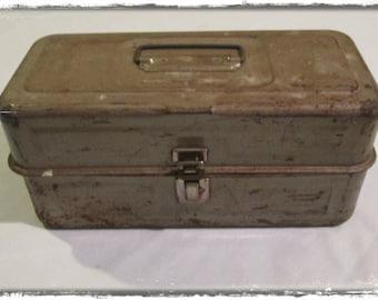 Old Metal Tool Box
