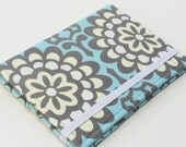 Kindle Paperwhite Case, Nook Glowlight Case, Samsung Nook Cover, all sizes, Blue Wallflower eReader Case