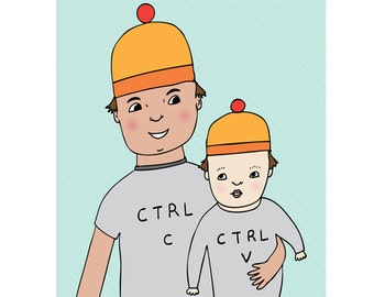 Father's Day Card - Ctrl C Ctrl V