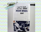 Penn State burp cloth, I'm a huge Penn State fan!