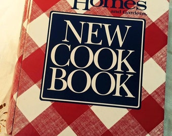 Vintage1989 Better Homes and Gardens New Cook Book Cookbook - Recipies book cook bake - c592