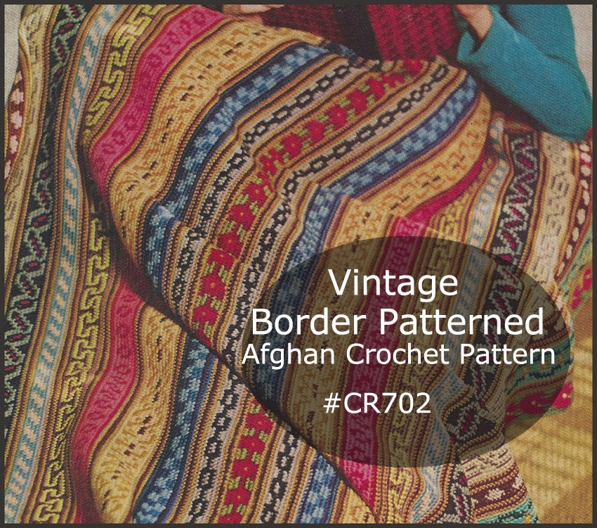 Crochet Patterns For Scrap Yarn Afghan : Afghan Crochet Pattern Scrap Yarn Crochet Afghan Border