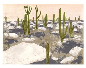 Desert Print