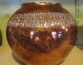Raku Chatter Vase