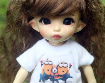 B306 - Lati Yellow / pukifee Outfits - T-shirt  and short pants.