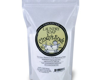 All Natural Concentrated Laundry Soap,  Unscented, 32 oz.