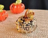 Solid Glass Mini Pumpkin,...