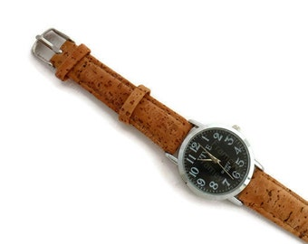 Watch with Cork bracelet W020