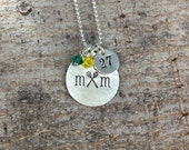Lacrosse Mom Necklace, Lacrosse Mom Jewelry, Team Mom Gift Team Spirit Jewelry Sports Necklace