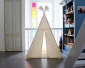 Teepee tent - plain MIDI size