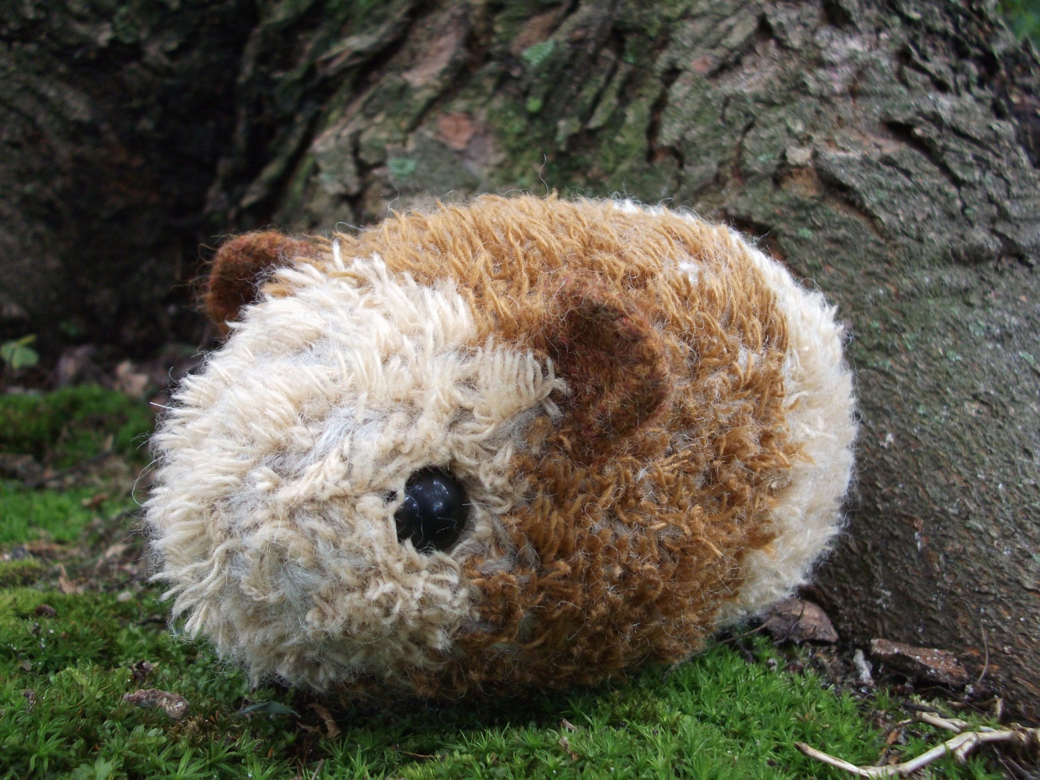Guinea Pig Toys : Guinea pig plush toy knit and felted