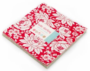 Hello Darling Layer Cake from Moda by Bonnie & Camille