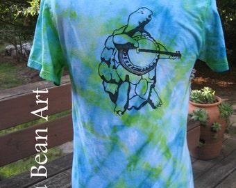 Terrapin Turtle Grateful Dead Tie Dye Shirt Small