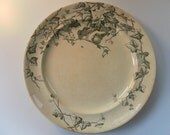 Four English Antique George Jones and Sons Plates 1880s