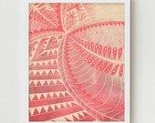 Abstract Art, Digital Print Wall Decor, Abstract Pattern Art Print, Pink Abstract Design Modern Decor Wall Art, Pink Modern Design