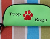 Dog Poop Bag Pouch Green