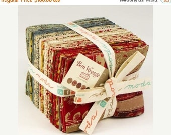 SALE Bon Voyage from French General  for Moda Fat Quarter In stock and ready to ship