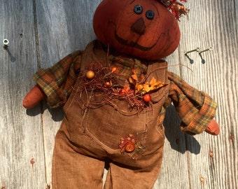 Petey the pumpkin
