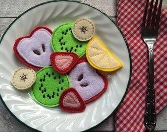 Felt Food Sliced Fruit