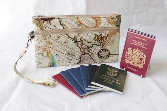Family passport holder travel document holder by traceylipman for Family travel document organizer
