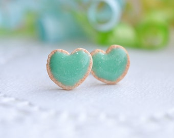 Sugar cookie earrings Mint-Sugar cookie collection-Scented-Miniature food jewelry