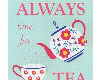 Time For Tea  - Fine Art Print