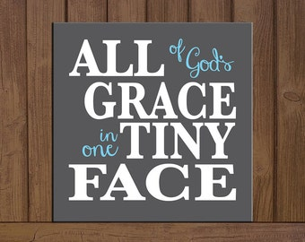 All of God's Grace in one Tiny Face Board