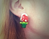 Mario Bros Nintendo Pirahna Plant