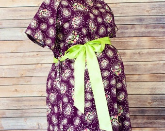 ON SALE 40% OFF - Alana Labor and Delivery Gown- Great gift for new moms - Make her delivery even more amazing with the perfect gift
