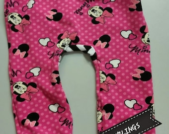 Minnie Mouse maxaloones ***NEW knit print never seen before, ready to ship