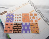 Halloween Full Box Planner Stickers Planner Stickers PS108