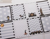 Halloween Stickers Full Box Planner Stickers PS157