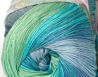 Alize Miss Batik crochet thread size 10, 100% mercerized cotton, #3721