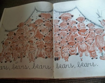 BEARS story by Ruth krauss 1948