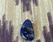 sodolite throat chakra necklace