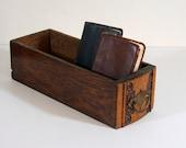 Vintage Sewing Machine Drawer, Wood
