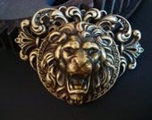 Large Custom Lion Pendant, Large Jewelry Findings, Unique Necklace Supply, Lion, King Necklace Supply, Quality Jewelry Component