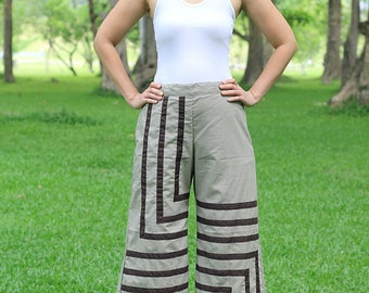 P001---Beautiful lines ( Cotton Pants)