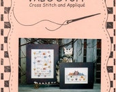 Here a Cat There a Cat No Mouse Love Cats Samplers Counted Cross Stitch Embroidery Craft Pattern Leaflet CS042