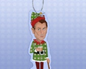John Boehner Congressional Elf paper ornament