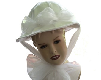 Custom Boutique MARY POPPINS Inspired Jolly Holiday White Hat