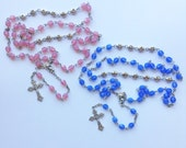 Personalized Baptism/Child's Keepsake Rosary (Style 2)