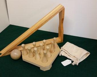 Shuffleboard Table Cue Bowling Set