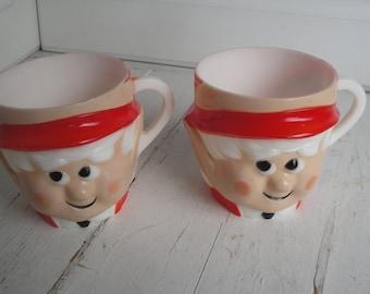 Vintage Keebler Elf Ernie Mug Set of 2