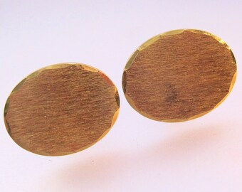Vintage Gold Filled Signet Cuff Links FREE SHIPPING