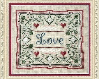 Love - Cross Stitch Kit by THE SWEETHEART TREE