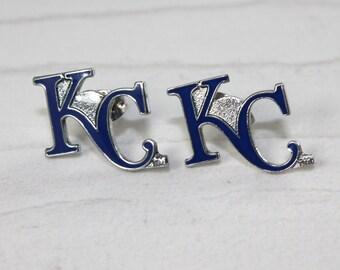 KC Royals Post Earring
